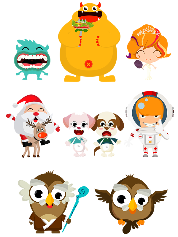Character Design Apps For Android : Good job kids ios android app on design served