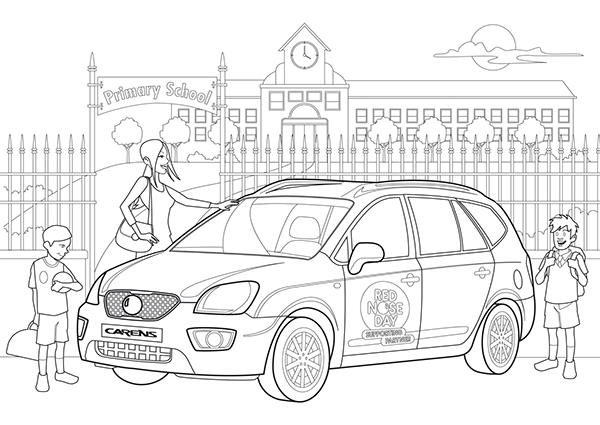 kia coloring pages sketch coloring page