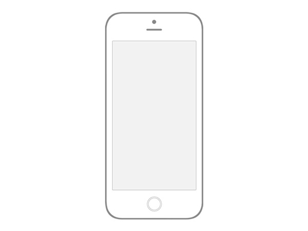 Transparent Iphone 6 Wireframe Psd On Behance