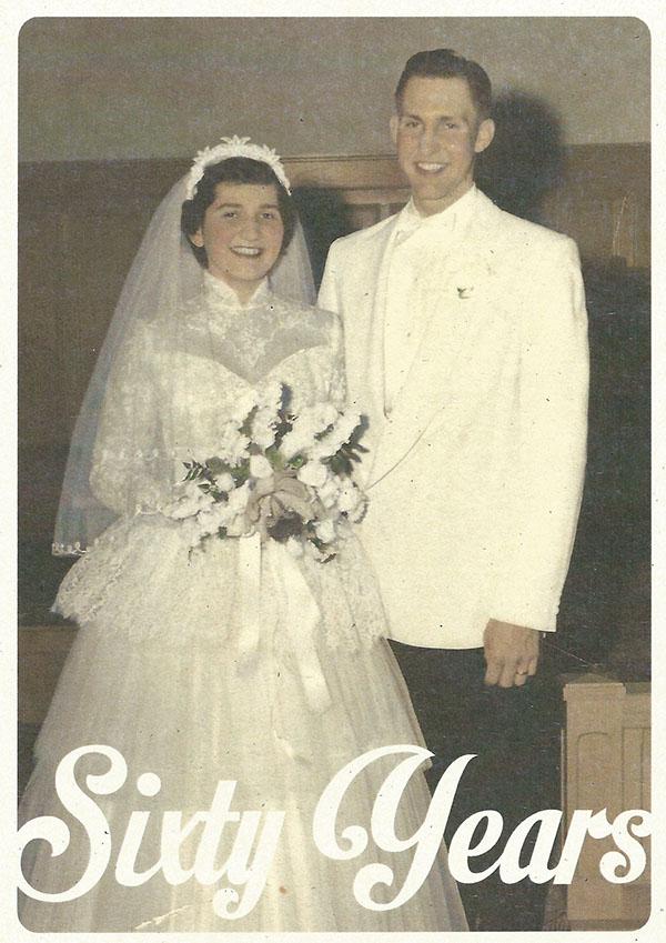 60th Wedding Anniversary Invitations On Behance