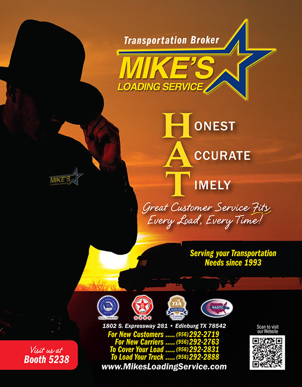 Mikes Loading Service - PMA Show Ad on Behance