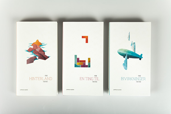 Book Cover Design Project : Book series rune tuverud on behance