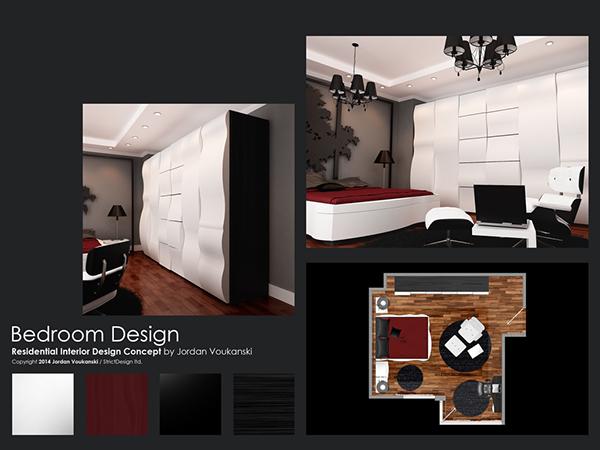 Bedroom Design Concept 2014 On Behance