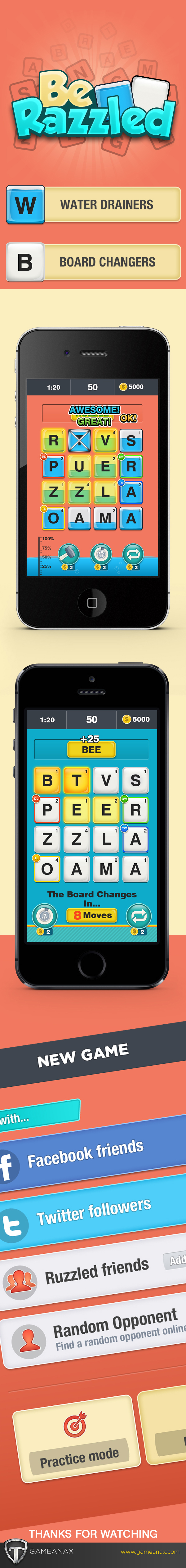 mobile gaming Gaming Games puzzle UI ux iphone iPad
