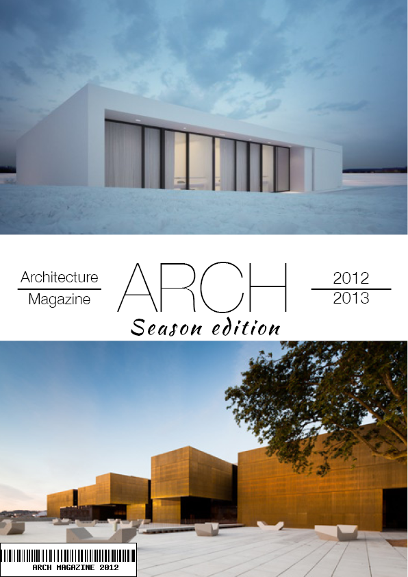 Arch magazine cover temp on behance for D architecture magazine