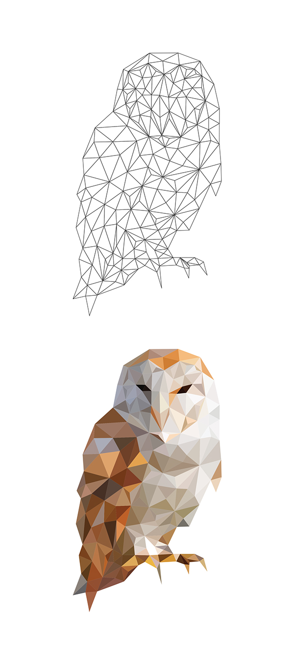 Low Poly polygonal polygon kanyewest Mandela madiba portrait Triangles mesh poly Pharrell delaunay triangulation geometric Ps25Under25