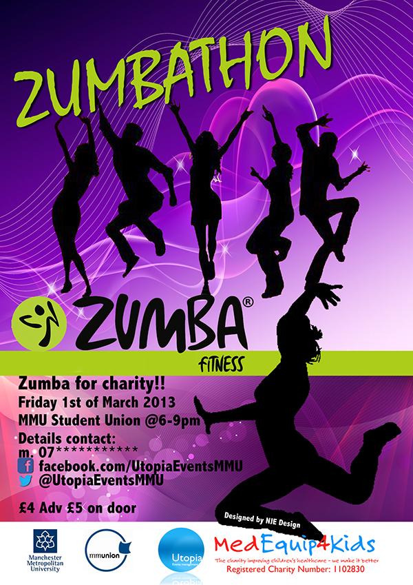 Zumbathon Poster Utopia Events Zumbatho...