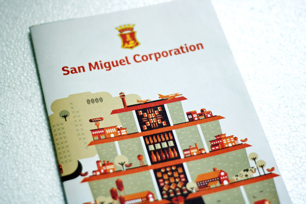 tows analysis of san miguel corporation San miguel corporation (pse: smc) is a filipino multinational publicly listed conglomerate holding company it is the philippines' largest corporation in terms of revenue, with over 17.