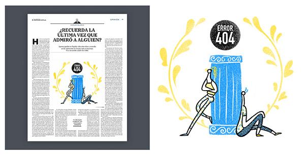El Norte de Castilla :: Editorial illustration