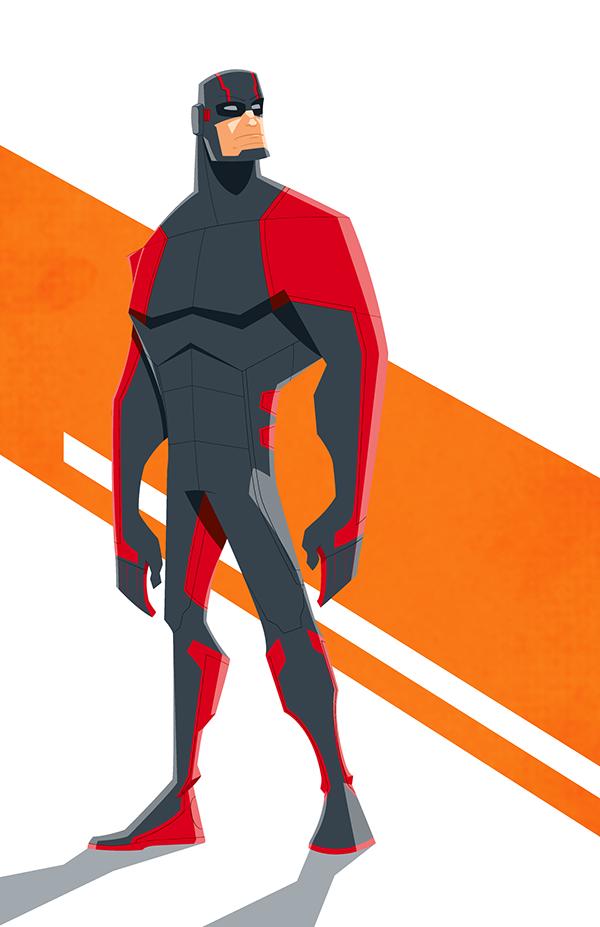 Marvel Character Design Behance : Daily illustration on character design served