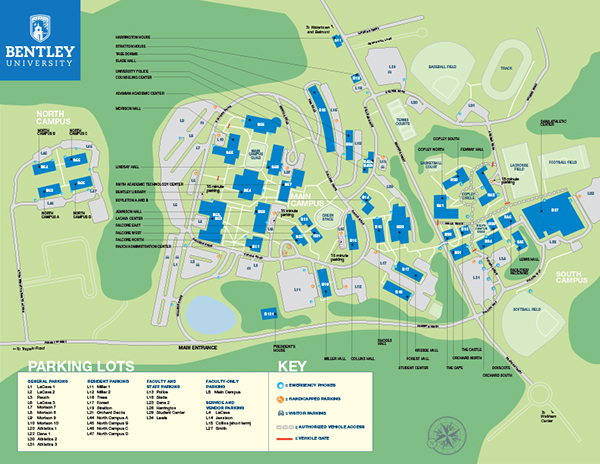 Bentley University Map My Blog
