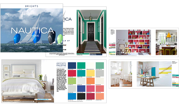 Nautica At Home Paint Packaging And Trade Show Booth On Aiga Member