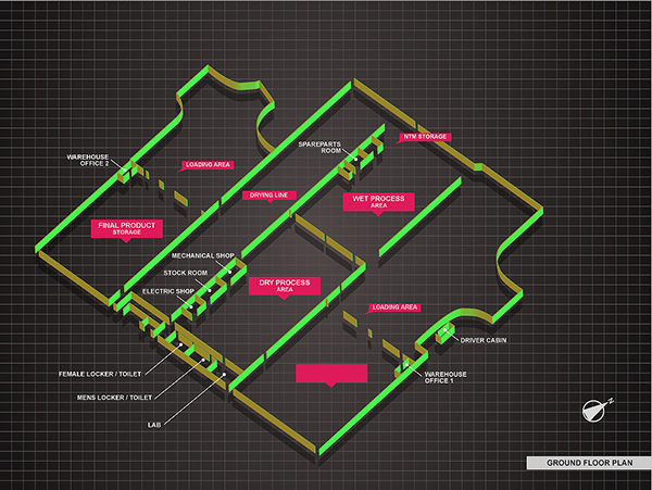 3d isometric floor plan  on behance