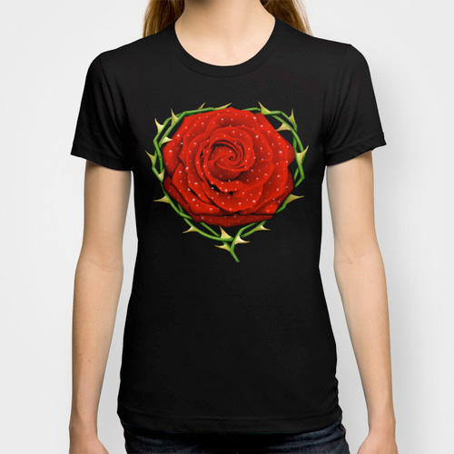 rose red Thorn Heavy hard passion fetish Love