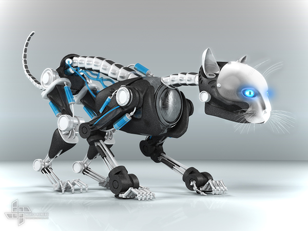 Robot Cats And Dogs