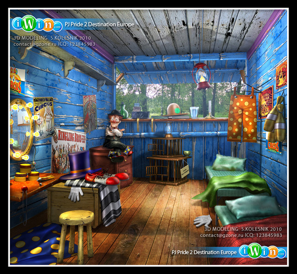 3D Background for PJ Pride on Behance