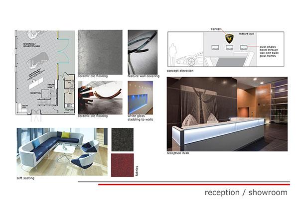 Design Concept Car Showroom On Behance