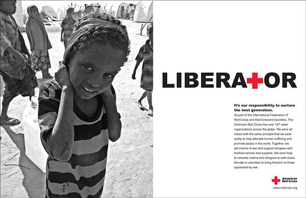 Arc American Red Cross non-profit print ads