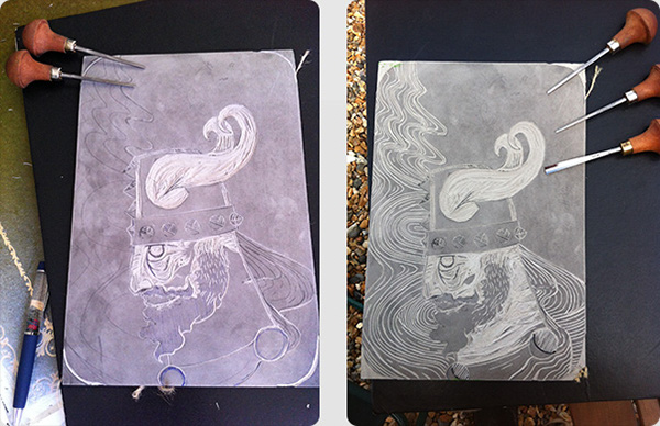 viking lino lino print Printing