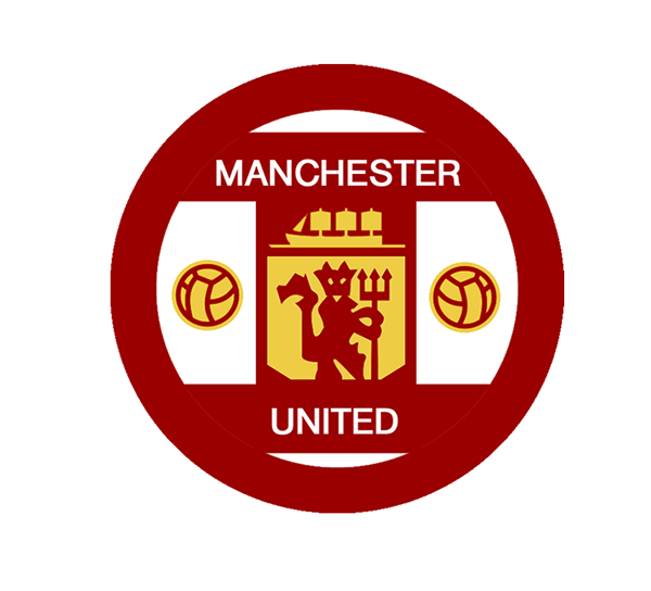 Manchester united fc logo redesign on behance home kit voltagebd Gallery