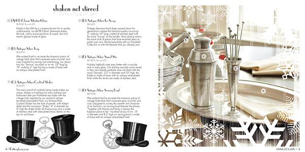 Pottery Barn New Year S Eve Catalog On Behance