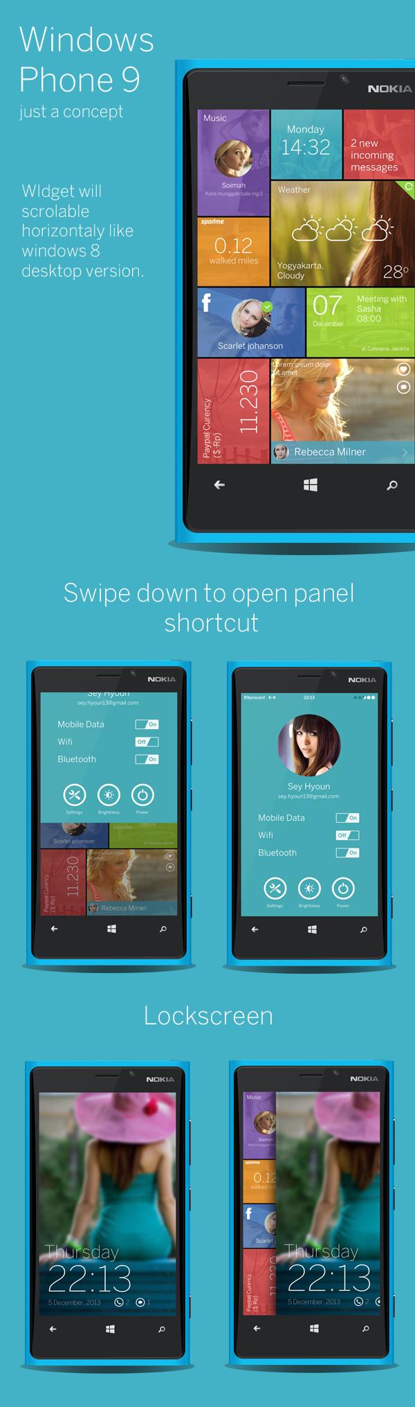windows phone lumia wp tiles beautiful ui nokia flat flat ui