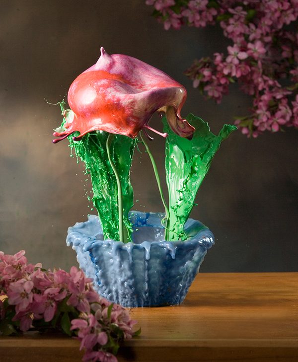 splash  High Speed Flash Jack Long  Liquid Art fluid Liquid alien landscape Fluid Flowers fluid suspension Coffee sculpture