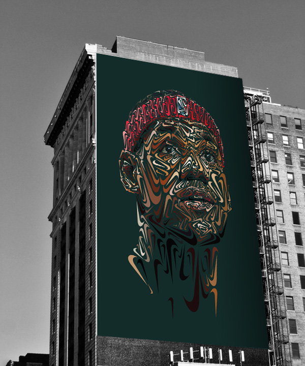 The Nike Portraits On Behance