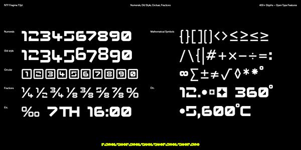 NTF Fragma - Typeface Design