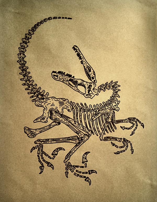 Raptor Tattoo on Behance