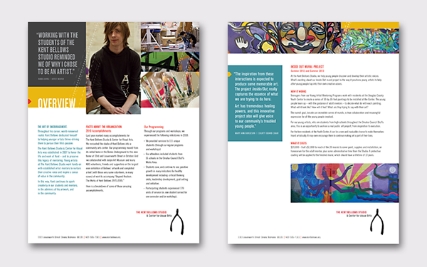 non profit,arts,Mentor,student,branded environment
