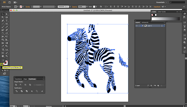 Tutorial: from image to laser cut on Behance