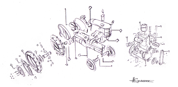 fordson major tractor wiring diagram
