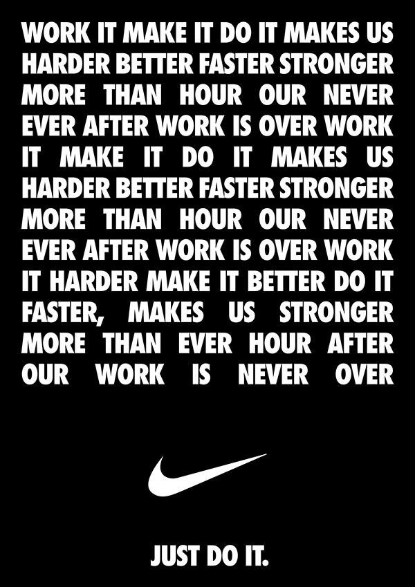 work it do it