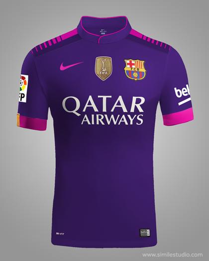5815bcd8b0ea6 F.C. Barcelona 2016 2017 Rumores (Concept Kit) on Behance