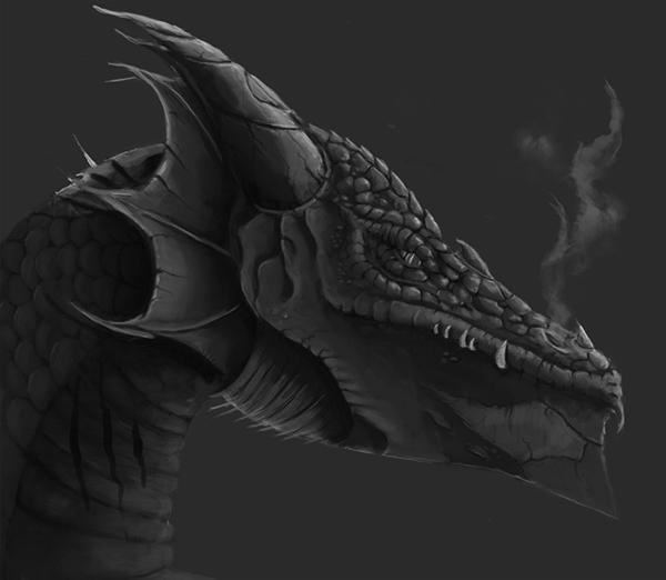Lloyd Jones Illustration June 2011: Dragon Concept On Behance