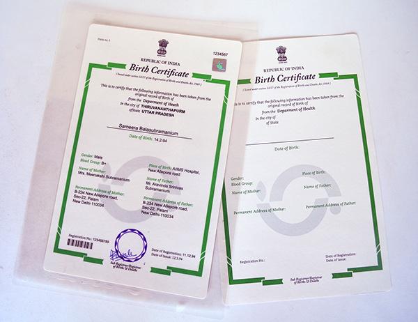 Birth,Death & Marriage Certificates on Behance