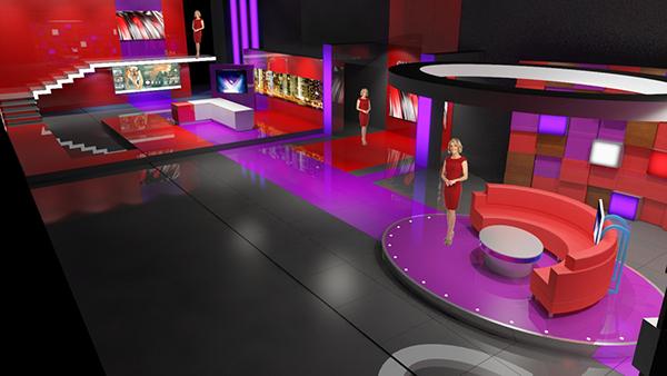 Channel 9 Bangladesh Set Design on Behance