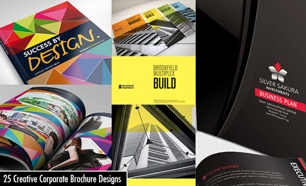 25 Creative Corporate Brochure Design examples for you on Behance