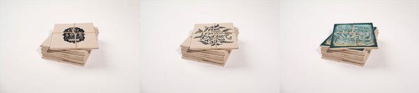 carton dishes folder Mockup freebie psd