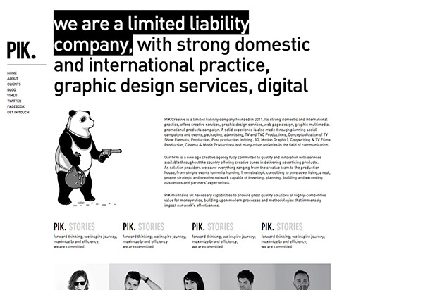 PIK Creative Tirana  albania  advertising
