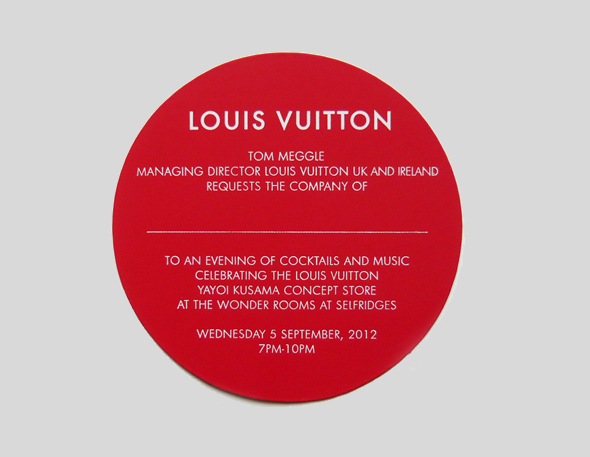 Product launch invitation 28 images invitation for weekend du louis vuitton yayoi kusama invitation on behance stopboris Image collections