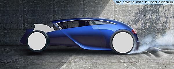 hot rod art,olivier Gamiette,makinf of,tutorial,rod,concept car,rendering,Big Wheels