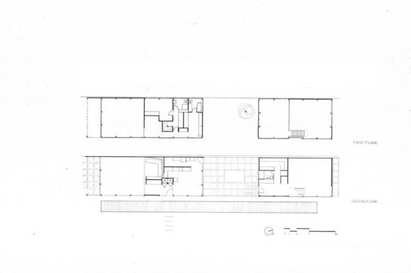 The eames house case study on behance for Case study house 8 floor plan