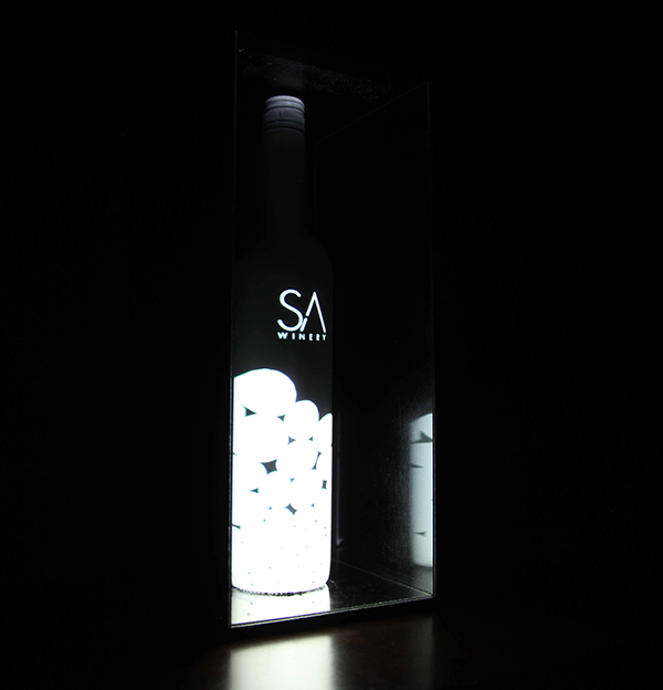 San antonio winery rebrand on art center gallery for Wine painting san antonio
