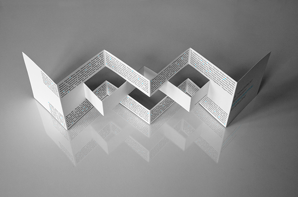 brochure making up mock up print structure