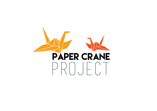 paper crane project on behance