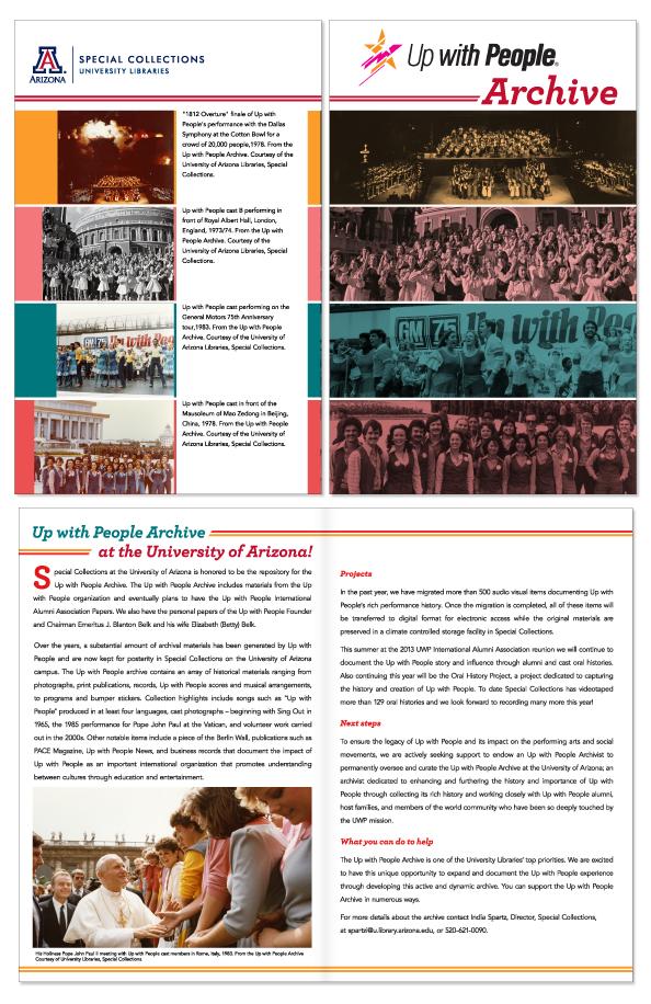 print brochure Layout