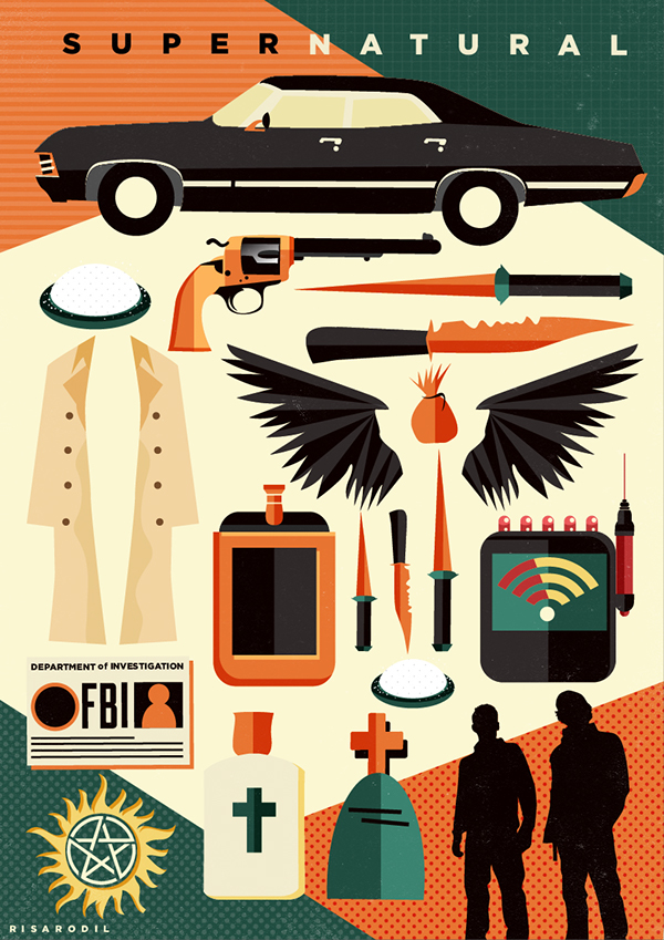 Supernatural Posters on Behance