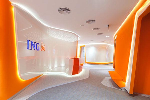 Corporate Department of ING Bank Śląski on Behance
